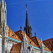 Budapest Cathedral Roof