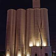 Grain Elevators Night