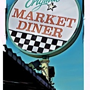 Original Market Diner Sign