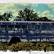 Once-Blue Bus