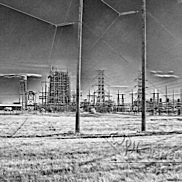 Power Station in Infrared