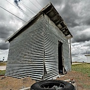 Tin Shed and Tire